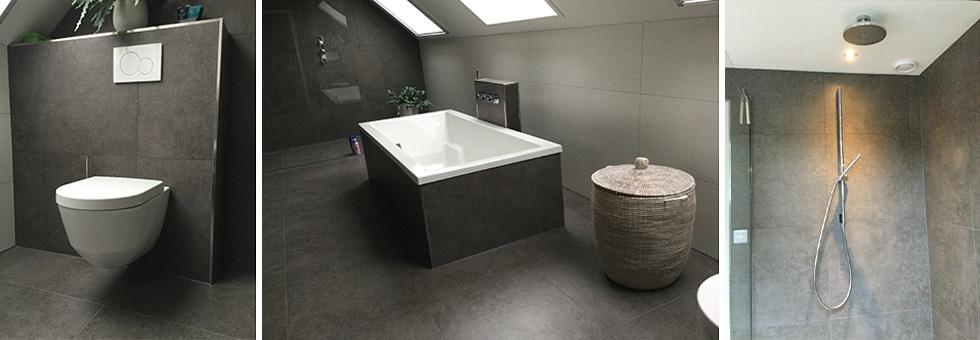 Badkamer verbouwen door de installateur uit Dinxperlo